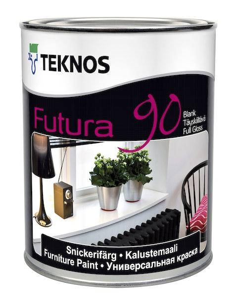 FUTURA 90 KALUSTEMAALI 0,9L TÄYSKIILTÄVÄ PM3 SÄVYTETTÄVÄ