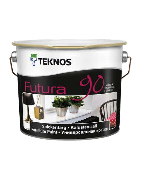 FUTURA 90 KALUSTEMAALI 2,7L TÄYSKIILTÄVÄ PM3 SÄVYTETTÄVÄ
