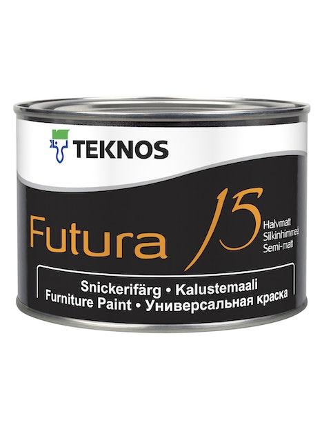 FUTURA 15 KALUSTEMAALI 0,45L PUOLIHIMMEÄ PM3 SÄVYTETTÄVÄ