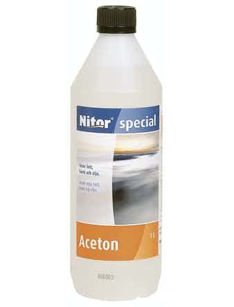 Aceton Nitor Rengöring/Kem 1l
