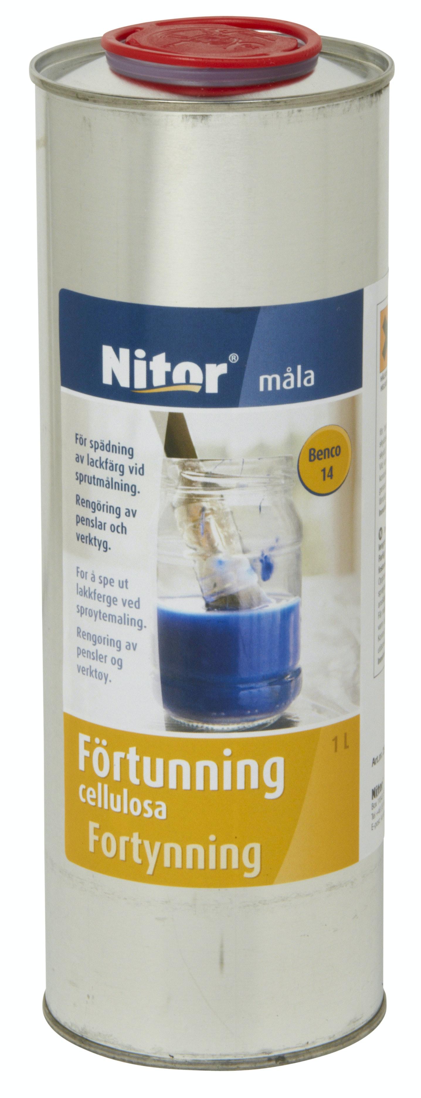 Förtunning Nitor Benco 15 Cellulosa 5l