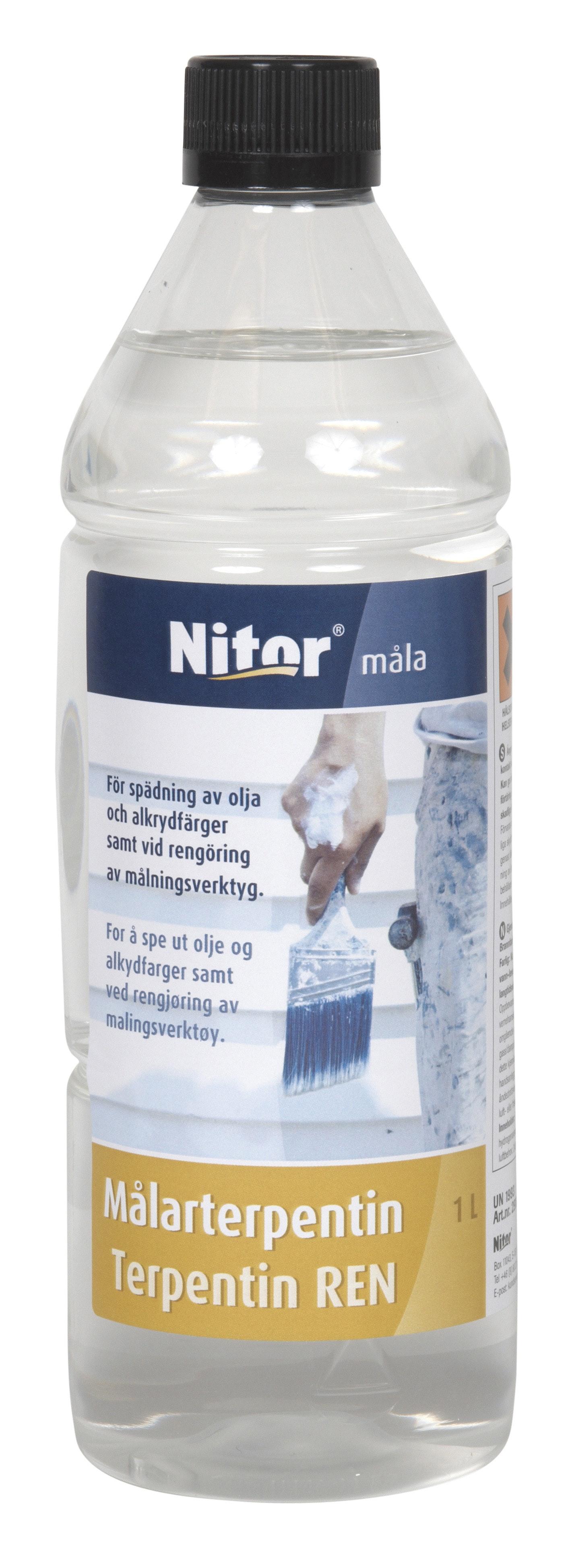 Målarterpentin Nitor 1l