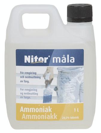 Ammoniak Nitor Rengöring/Kem 1l