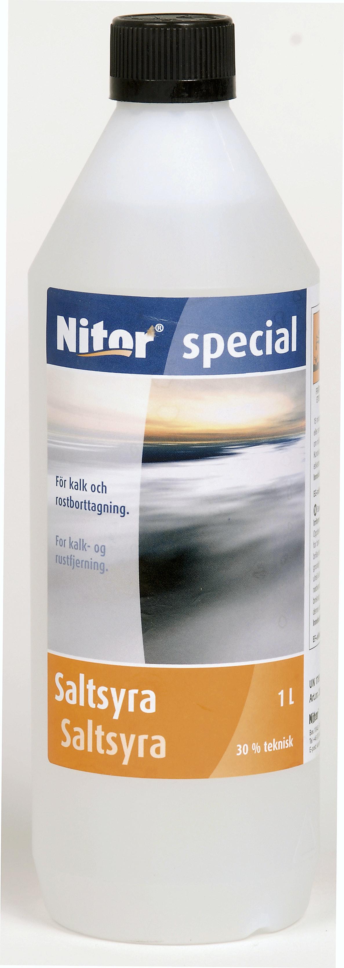 Saltsyra Nitor 1,3 Teknisk 1l