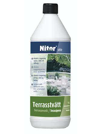 Terrasstvätt Nitor Rengöring Ute 1L