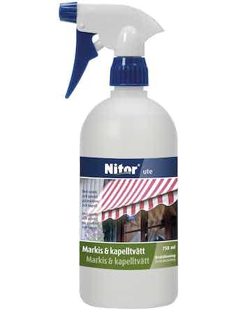 Markis/Kapelltvätt Nitor Rengöring Färdig 750