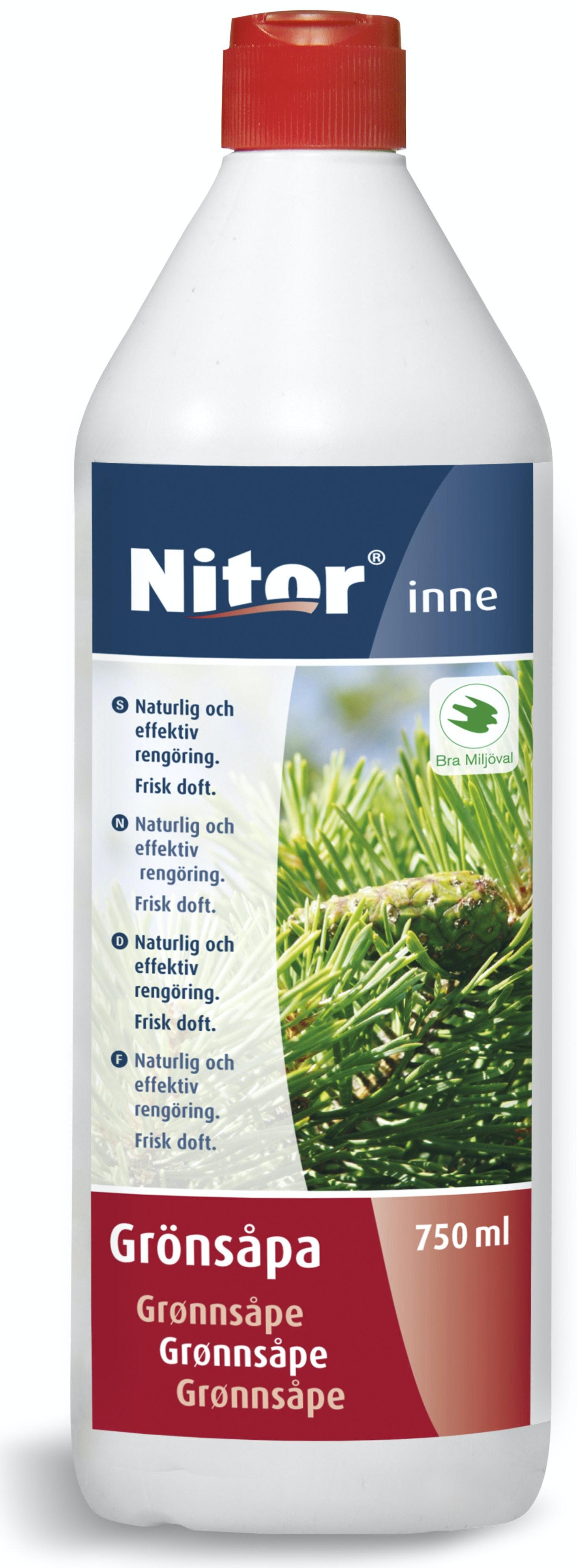 Grönsåpa Nitor 750ml