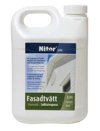 Fasadtvätt Nitor Utomhus 2,5l