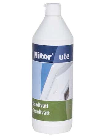 Fasadtvätt Nitor Rengöring Ute 1l