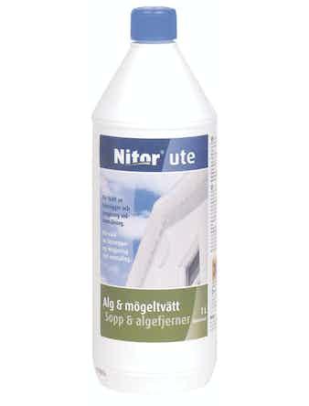 Alg/Mögeltvätt Nitor Rengöring Ute 1L