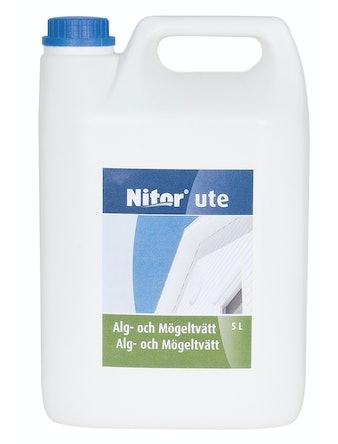 Mögeltvätt/Alg Nitor Rengöring Ute 5l