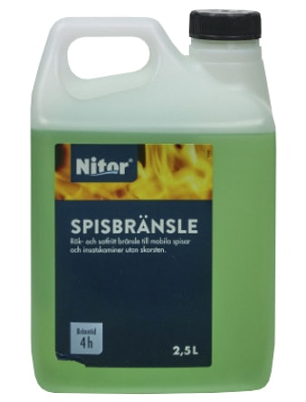 Spisbränsle Nitor 2,5L
