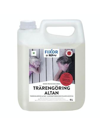 Tvätt Nitor Wood Cleaner 4l