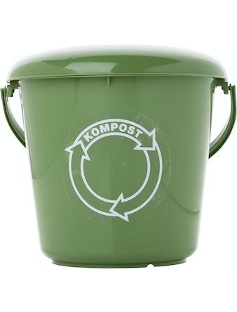 Komposthink Med Lock Grön 5l