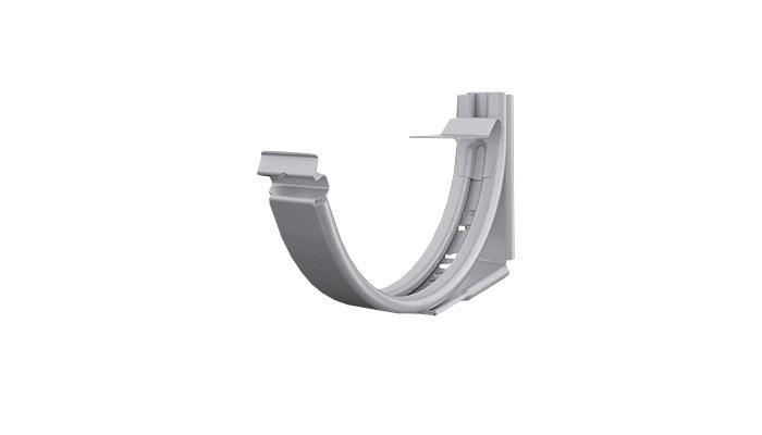 Ställbar krok Lindab Klickkrok KLK 125mm Silver