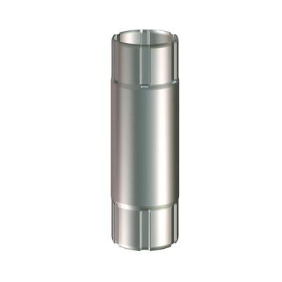 Mellanstycke Lindab  MST 87x500mm Silver