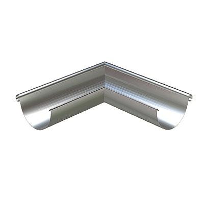 Rännvinkel Lindab Ytterhörn RVY 125mm Silver