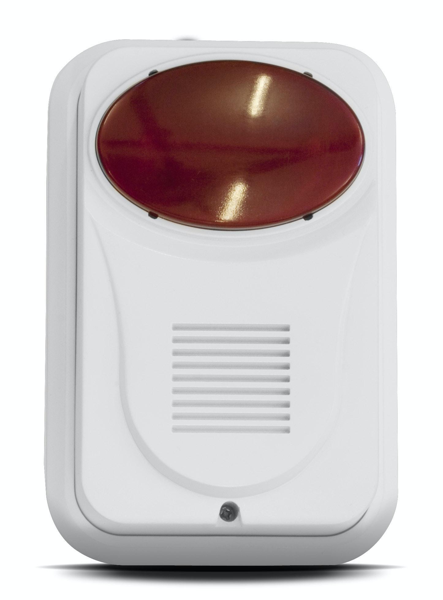 Siren Housegard Trådlös 868Mhz Hg System 1 1-Pk