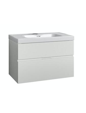 Underskåp Svedbergs Forma 80x45 vit 2 lådor