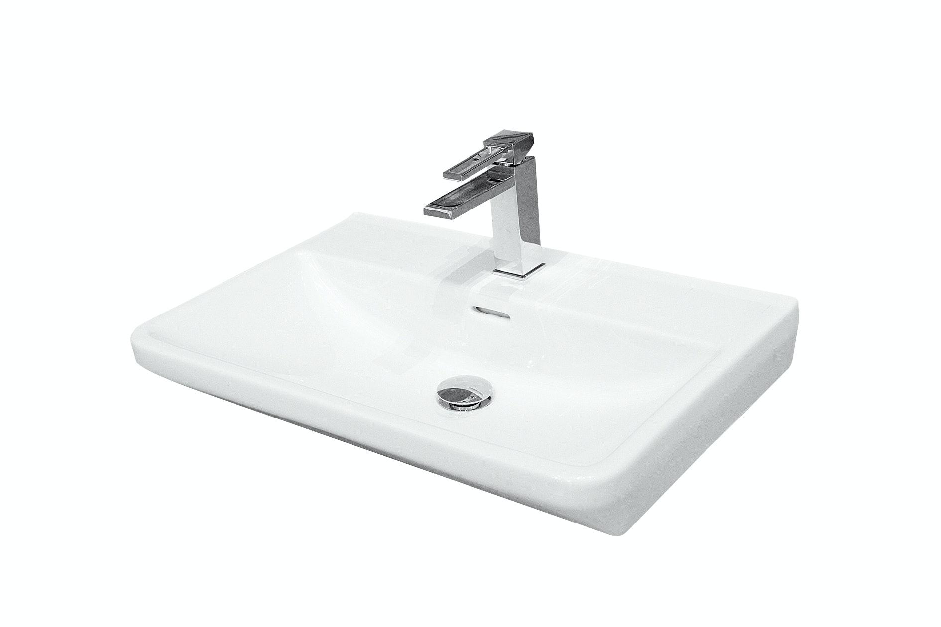 Tvättställ Svedbergs Fjord 60X35 Vit