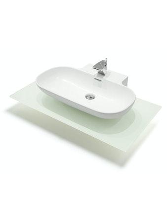 Tvättställ Svedbergs Drop Vit