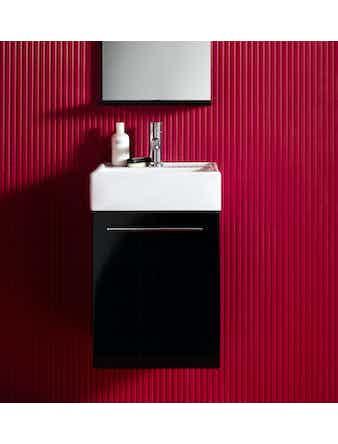 Tvättställsskåp Hafa Solo 42 cm svart
