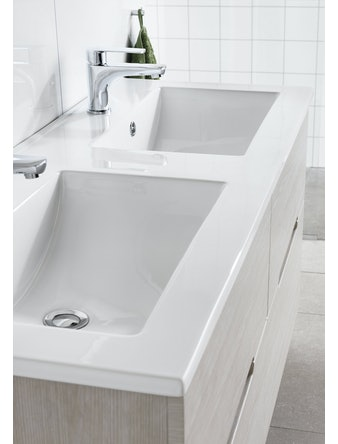 Tvättställ Hafa East 1200 Dubbel
