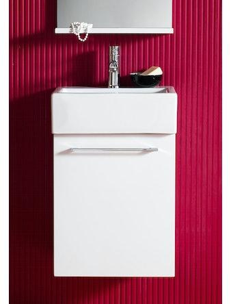 Tvättställsskåp Hafa Solo Vit 420
