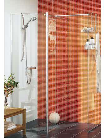 Duschvägg Hafa Cristal 90x90 cm klarglas