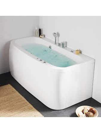 Massagebadkar Hafa Aqua 160 Square Base