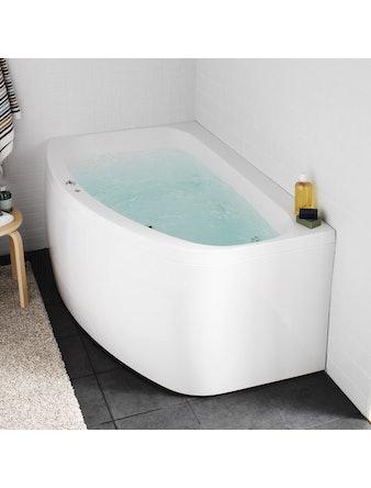 Massagebadkar Hafa Aqua 160R Base Höger
