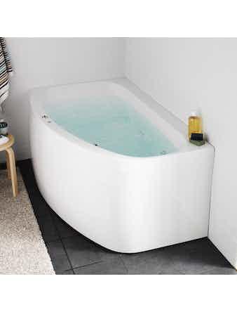 Massagebadkar Hafa Aqua 160R Deluxe Höger