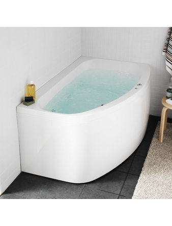Massagebadkar Hafa Aqua 160L Deluxe Vänster