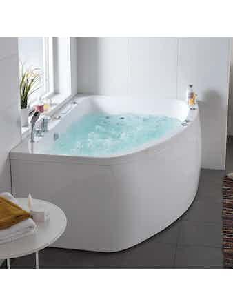 Massagebadkar Hafa Aqua 160L Duo Premium Vänster