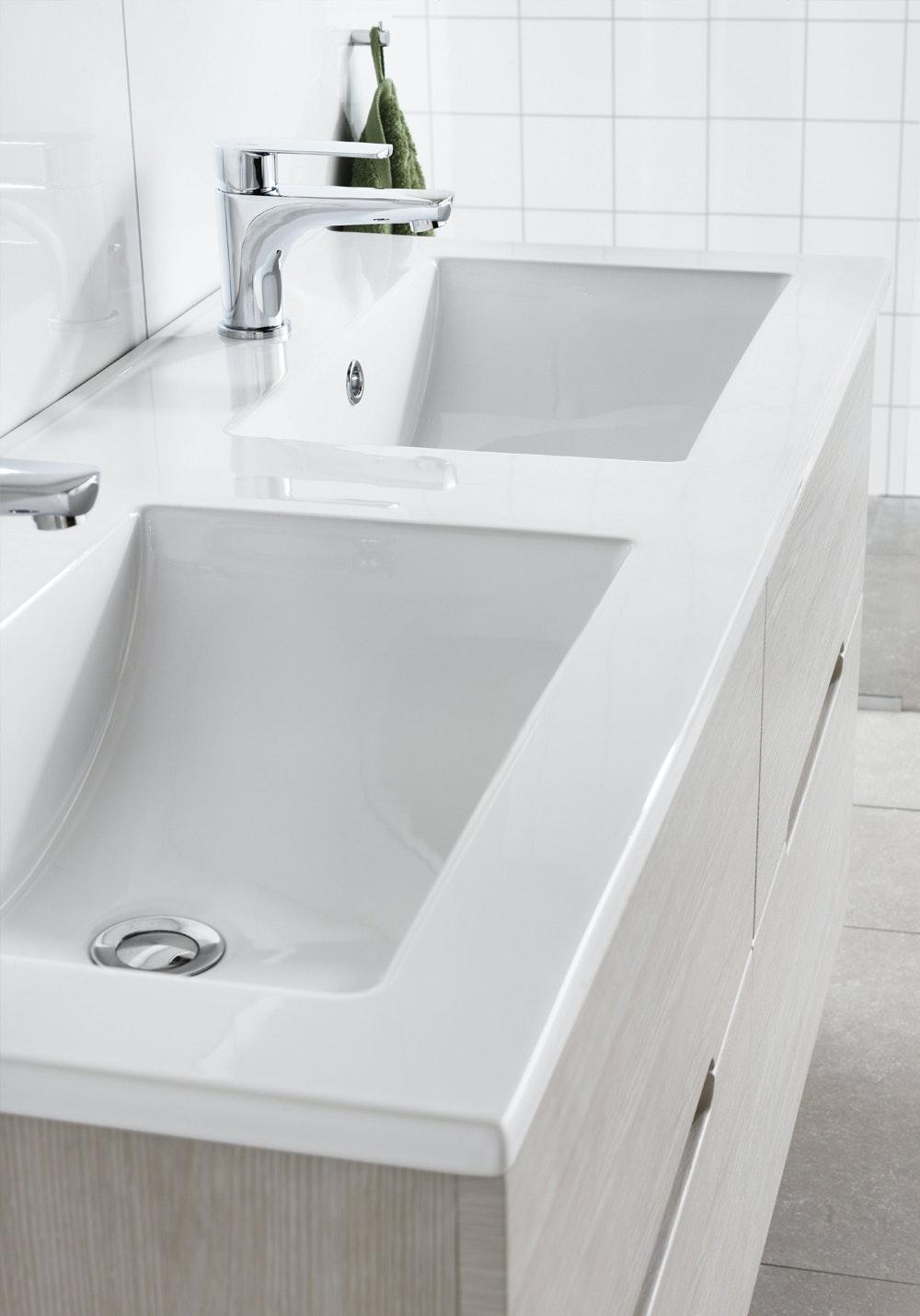 Tvättställ Hafa Sun & Eden 1200 Rektangulär Dubbelho