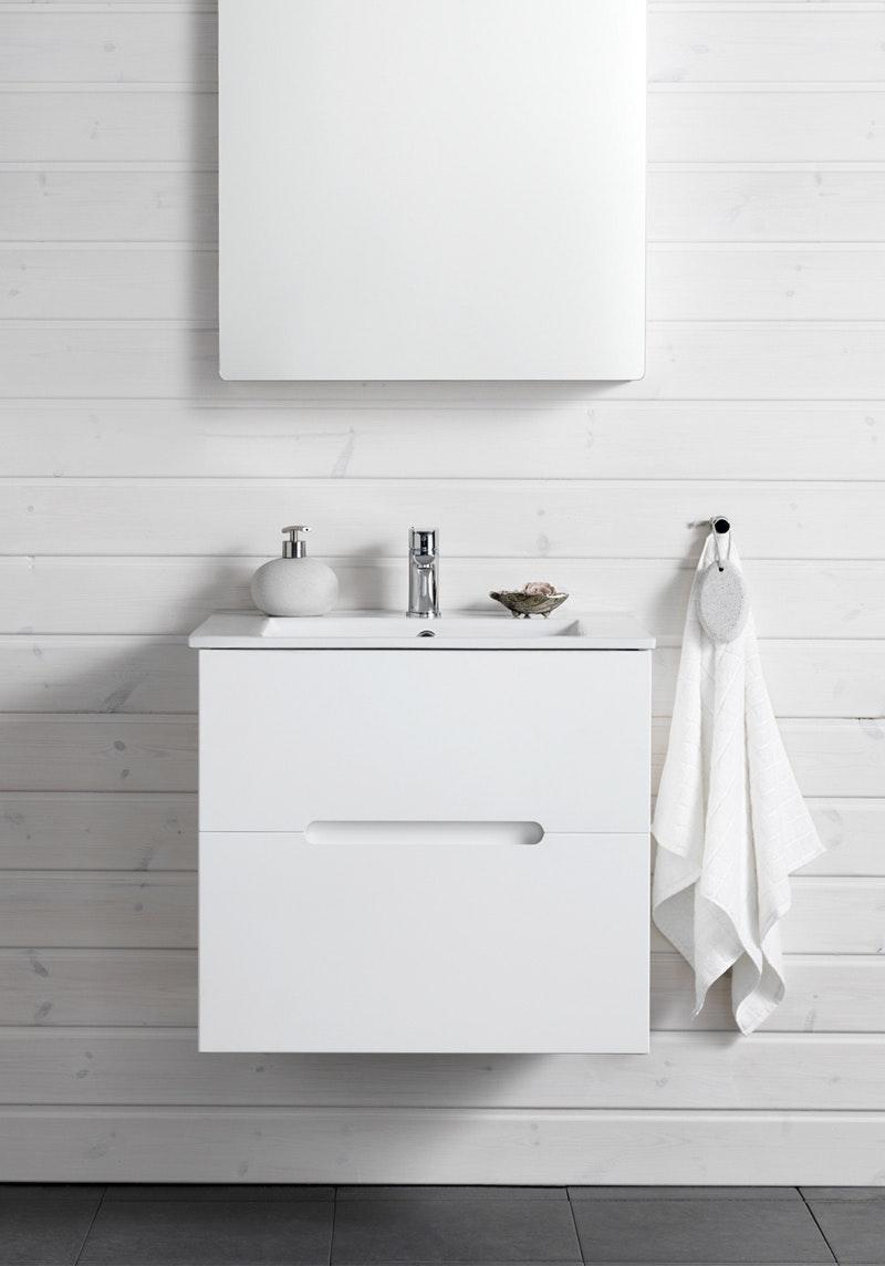 Tvättställspaket Hafa Sun 600 Vit Matt