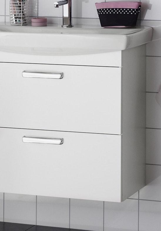 Tvättställsskåp Hafa Life 700 Vit Utan Front