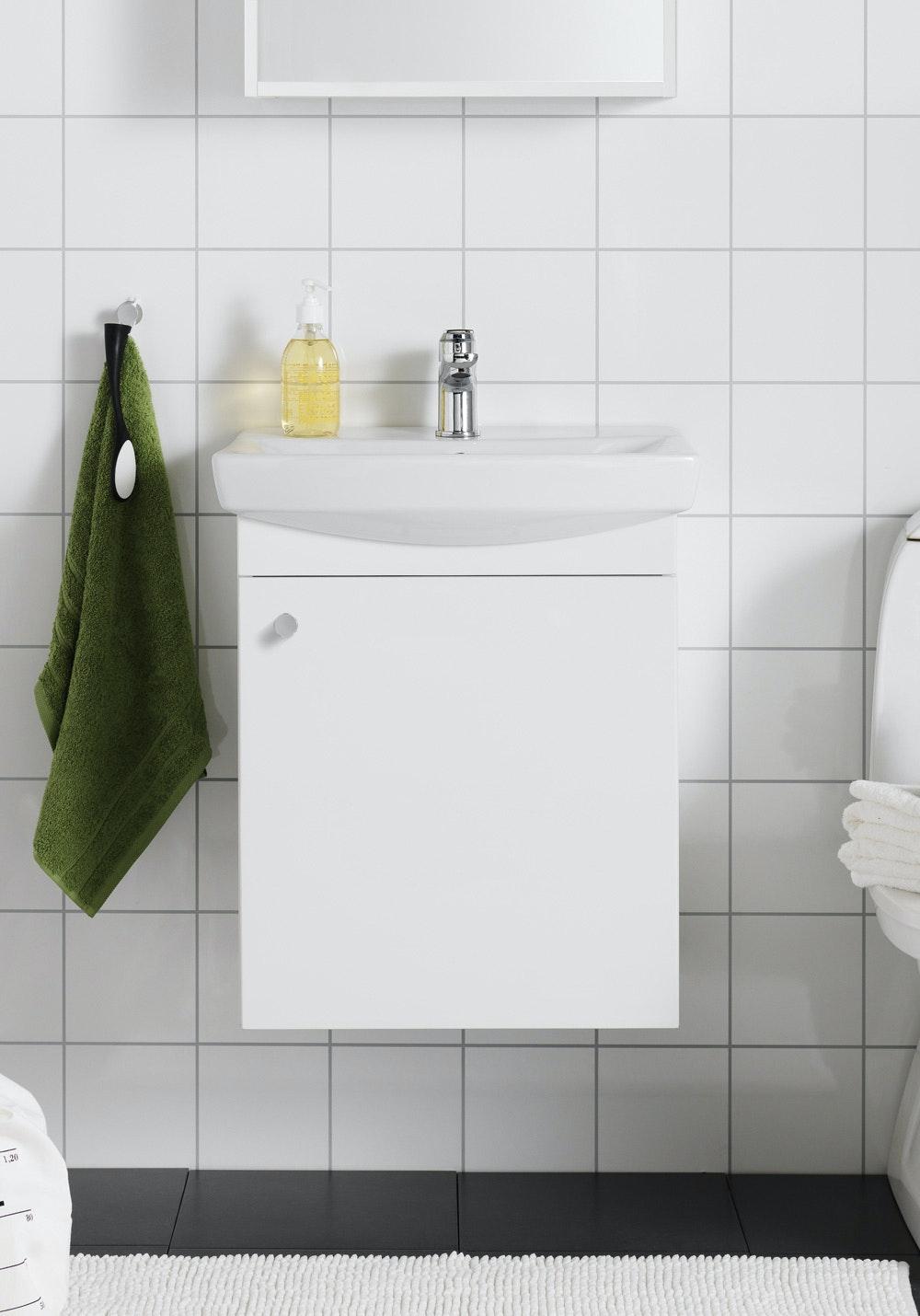 Tvättställspaket Hafa Life 500M Vit Komplett