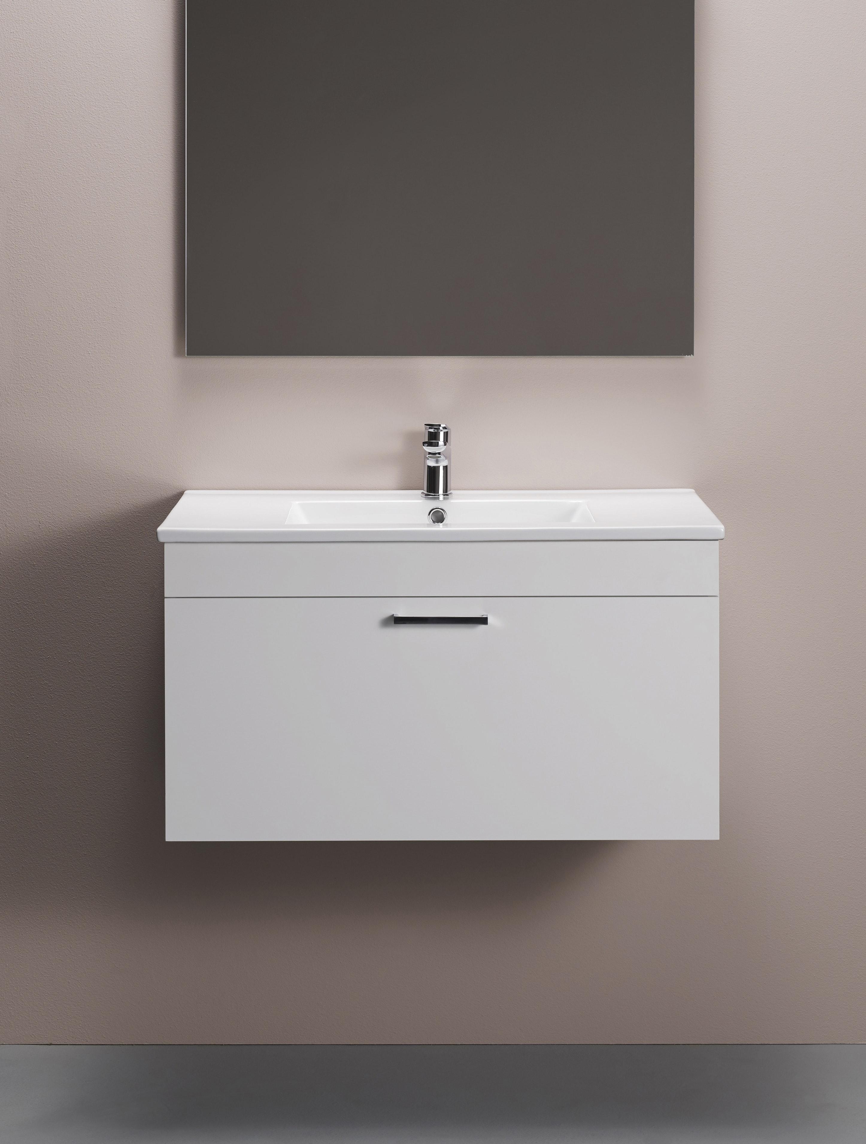 Tvättställsskåp Hafa 800 Go Högblank Vit