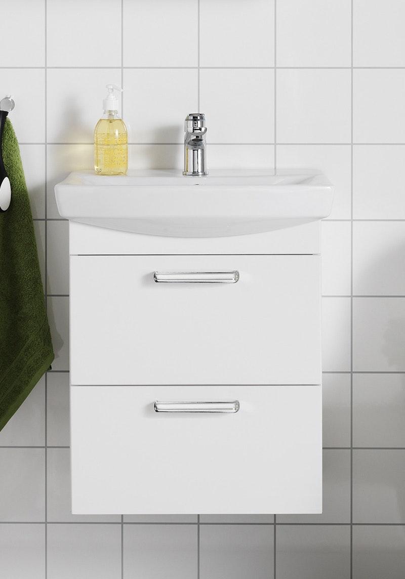 Tvättställspaket Hafa Life 500 Vit