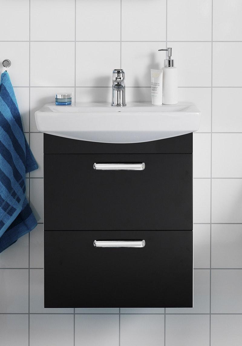 Tvättställspaket Hafa Life 500 Svart