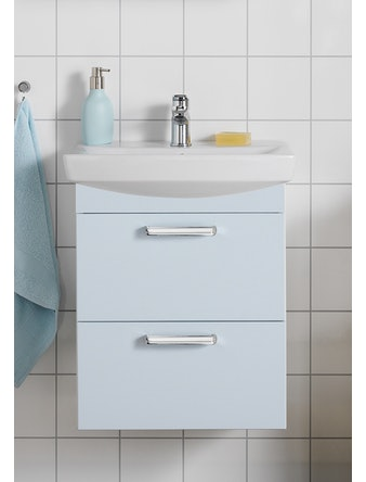 Tvättställspaket Hafa Life 500 Ljusblå