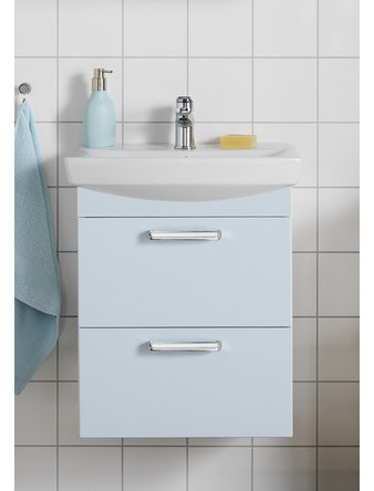 Tvättställspaket Hafa Life 600 Ljusblå