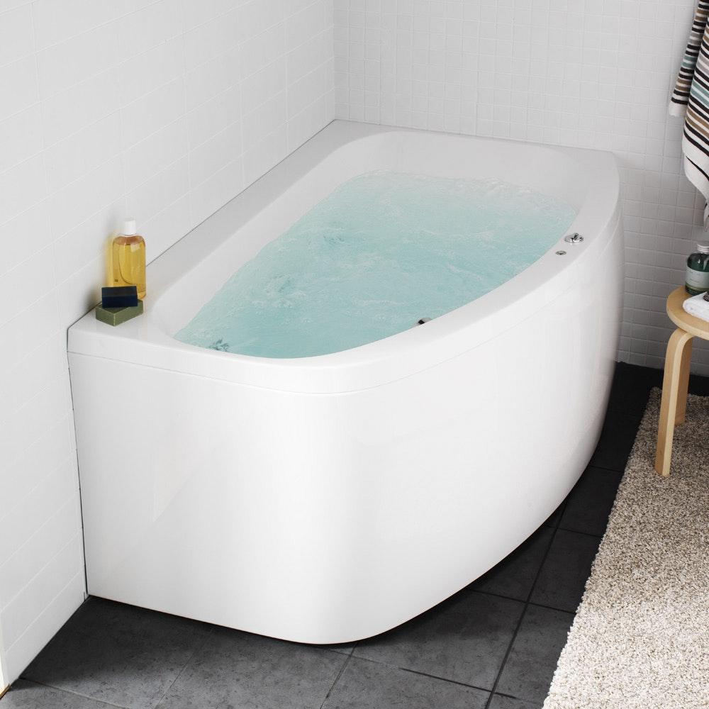 Badkar Aqua 160L Med Blandare