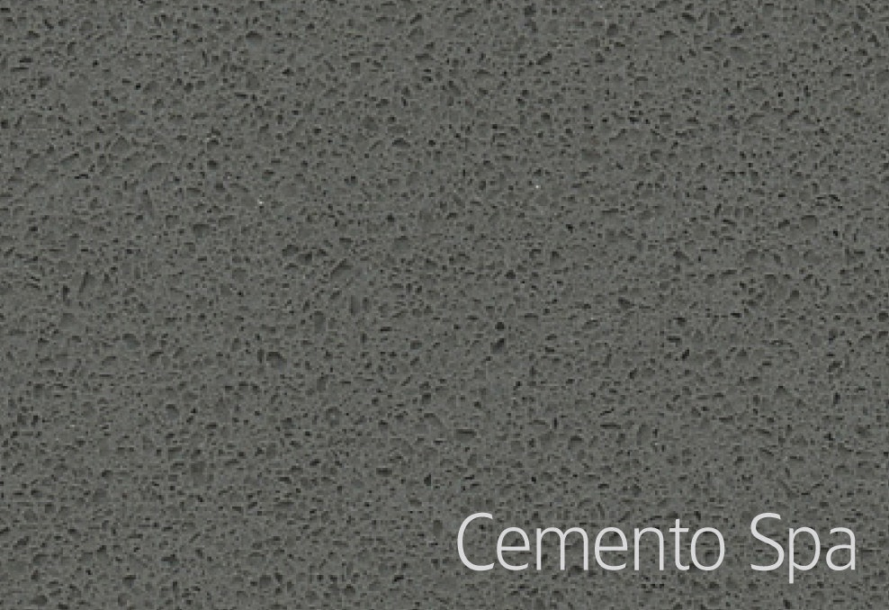 Bänkskiva Hafa Cemento Spa Suede 12x462x610mm Centrerat Hål