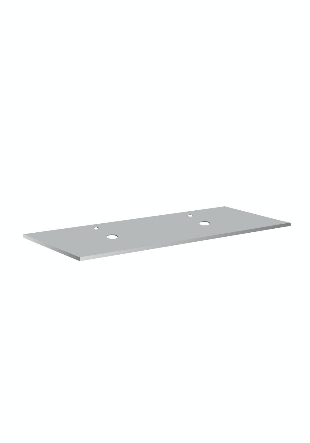Bänkskiva Hafa Cemento Spa Suede 12x462x1210mm Två Hål