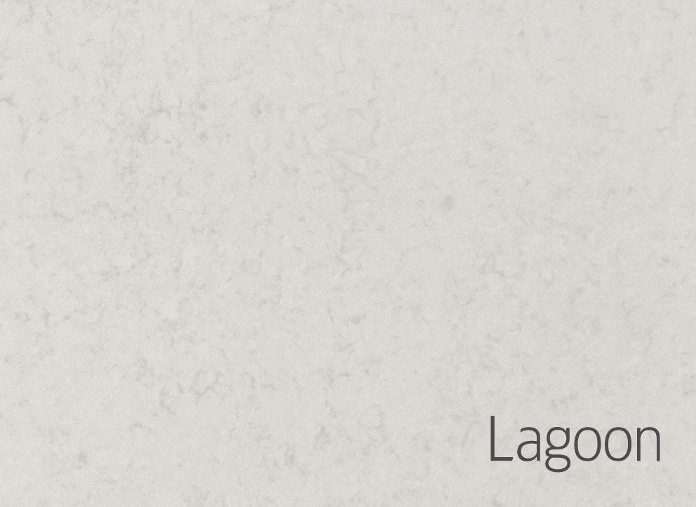 Bänkskiva Hafa Lagoon Suede 12x462x1410mm Hål Till Vänster