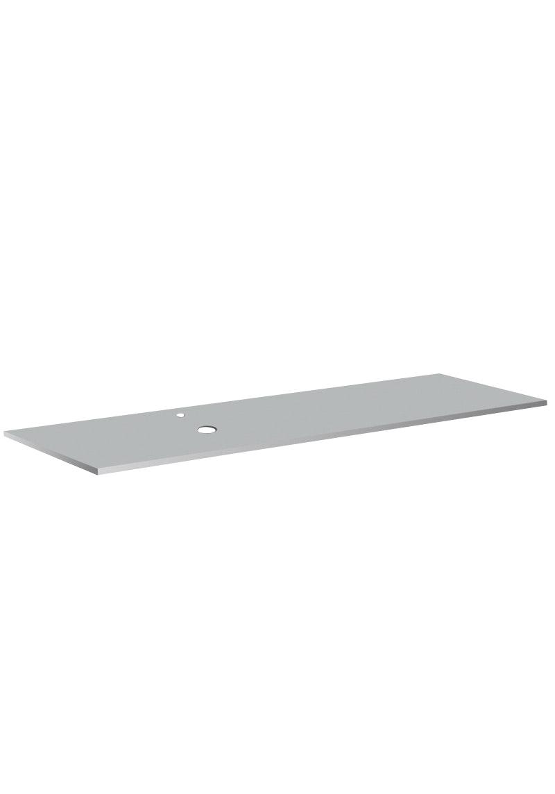 Bänkskiva Hafa Cemento Spa Suede 12x462x1610mm Hål Till Vänster