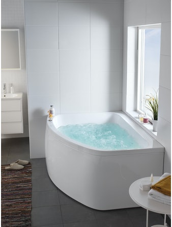 Massagebadkar Hafa Aqua 160R Duo