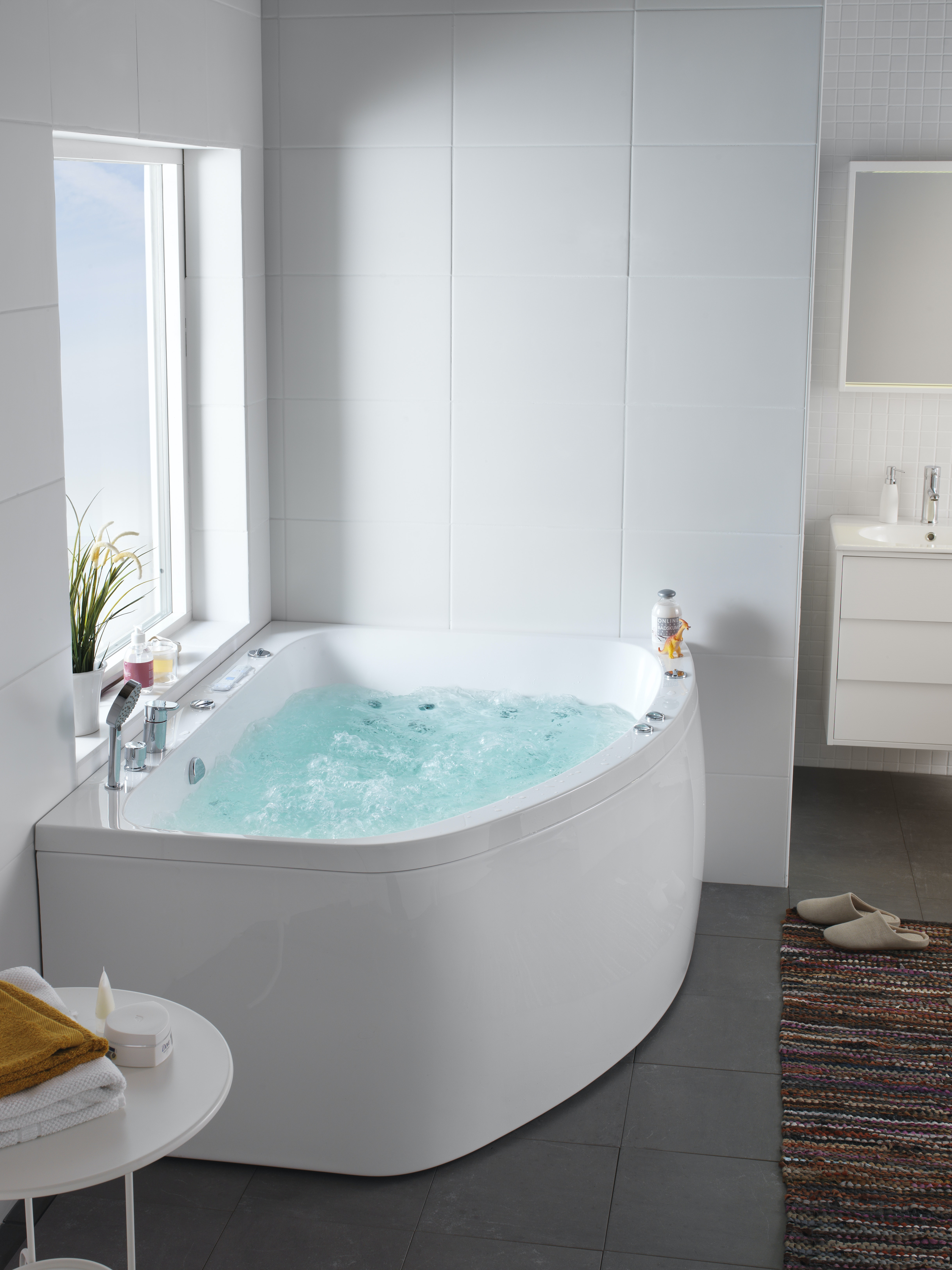 Massagebadkar Hafa Aqua 160L Duo Deluxe